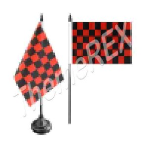 red-black-table-flag